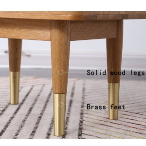 Bold cabinet legs that blend fashion and nature