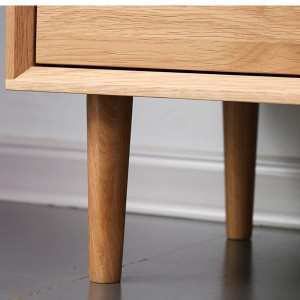 Practical material for solid wood cabinet legs