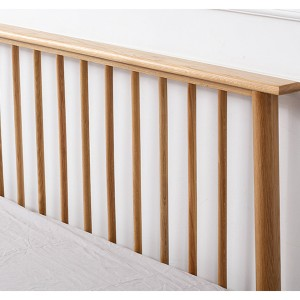 Windsor backrest solid wood bed