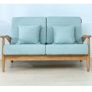 Removable and washable sofa seating surface
