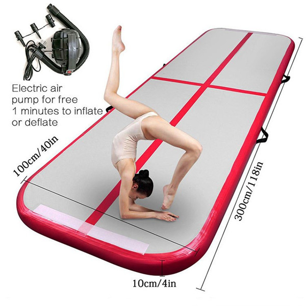 Customized Taekwondo Somersault Air Cushion Inflatable Gymnastics Training Mat 0382