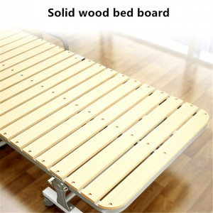Simple hard board foldable lunch break bed for renting a room saves space and is economical and practical