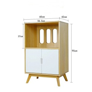 The specific size of the storage cabinet is 92*42*95CM.